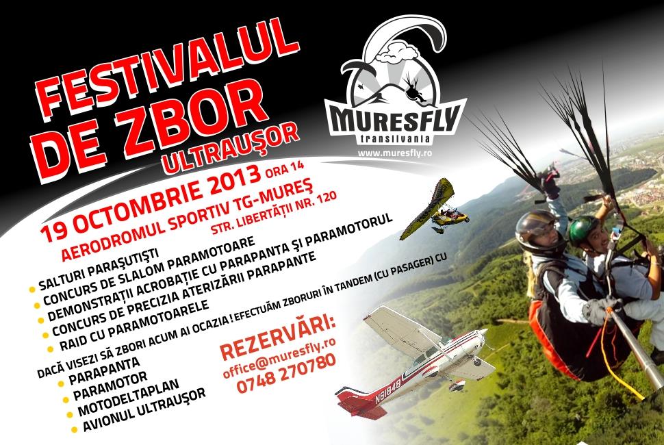 parapanta, tandem, pilot, zbor, Targu-Mures, Mures, scoala, festival, ultrausoare