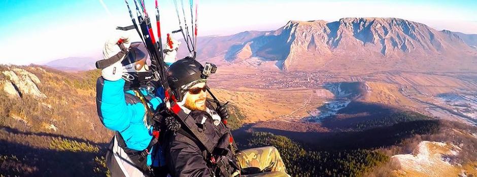 zbor, parapanta, adrenalina, Rimetea, aventura, excursie, tandem