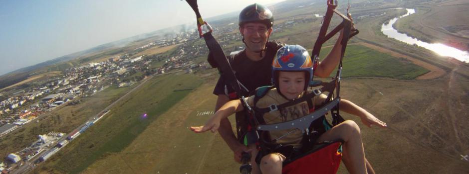 parapanta, tandem, pilot, zbor, Targu-Mures, Mures, scoala, aventura, vis